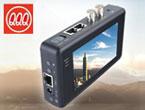 各種カメラ(アナログ、AHD、TVI、SDI、IP)対応LCDモニタ