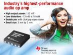業界最高性能のオーディオ・オペアンプ 『OPA1622』