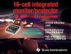 16セル用集積型Li-Ionモニタ/保護IC 『bq76PL455A-Q1』