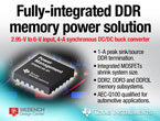 4A、2MHz、VDDQ DC/DCコンバータと1A VTT LDOによる車載DDR電源 『TPS54116-Q1』