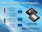 AOZ1376DI : USB Type-C PD 入力保護スイッチ