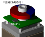 1グラムで回転検出シリーズAK7455
