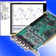 10MSPS、4チャネル同時サンプリングのアナログ入力ボード