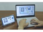 <簡単にタッチパネルを開発!>タッチパネルLCD+UI設計ソフトのセット