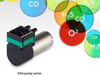 携帯用ガスモニタリング、ガス警報器に最適な小型軽量ポンプ
