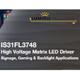 IS31FL3748 24x4 高耐圧マトリックスLEDドライバー