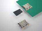 microSD<sup>TM</sup>小型メモリーカード用コネクタ