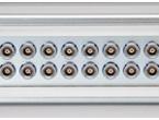 NIM-CAMACに標準化された小型同軸コネクタ
