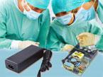 医療用アダプター各種電源をラインナップ