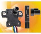 小型・薄型 セパレートタイプの無接触回転角度センサ