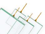 【新商品】 金属テールを標準採用 FTシリーズ アナログ4線式タッチパネル