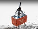 【新商品】 ダブル防水構造で防水信頼性を向上 Sシリーズ防水形トグルスイッチ