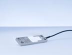 SLB-プレート型ひずみセンサ。被計測体に取付けて力や歪みを計測