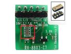 水晶振動子内蔵、低消費電流で高精度温度補償のRTC