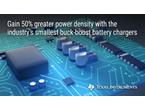 超小型、高効率マルチセル昇降圧バッテリ・チャージャ