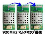 920MHz帯マルチホップ通信対応無線モジュール