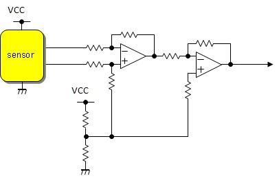アナログ差動アンプゼロ調整回路...